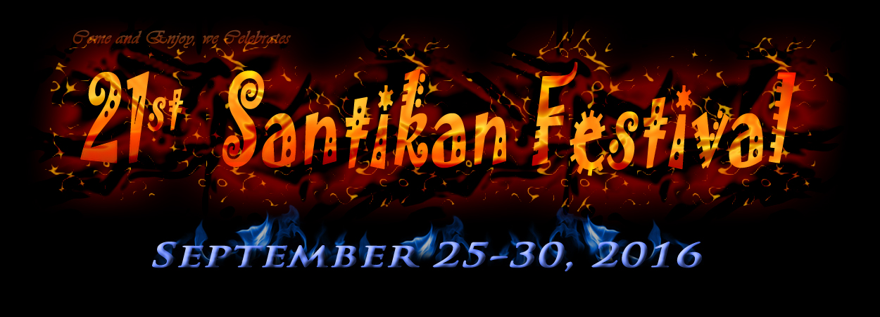 enjoy on santikan festival