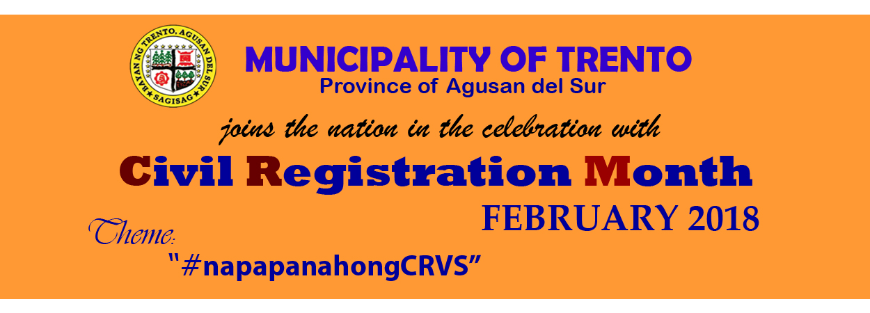 Civil Registration Month